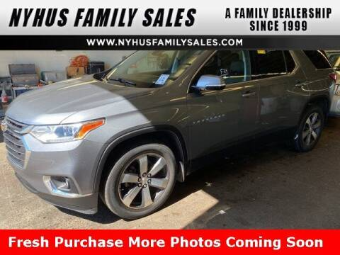 2018 Chevrolet Traverse for sale at Nyhus Family Sales in Perham MN