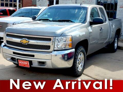2013 Chevrolet Silverado 1500 for sale at Jacksons Car Corner Inc in Hastings NE