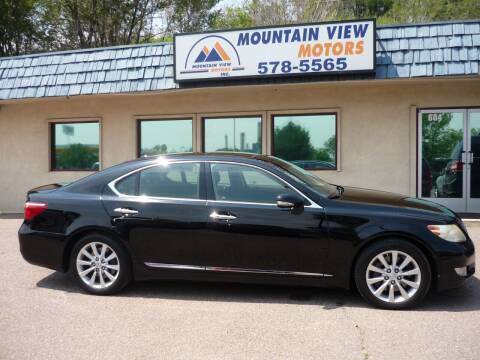 2010 Lexus LS 460 for sale at Mountain View Motors Inc in Colorado Springs CO