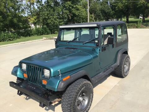 1995 Jeep Wrangler for sale at Bam Motors in Dallas Center IA