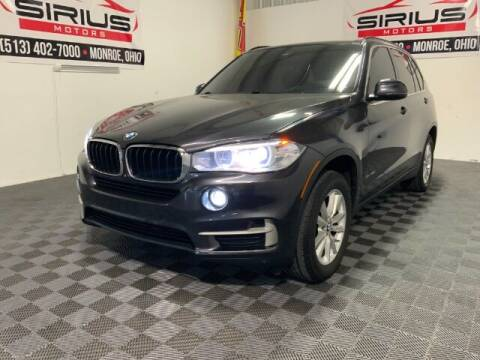 2015 BMW X5 for sale at SIRIUS MOTORS INC in Monroe OH