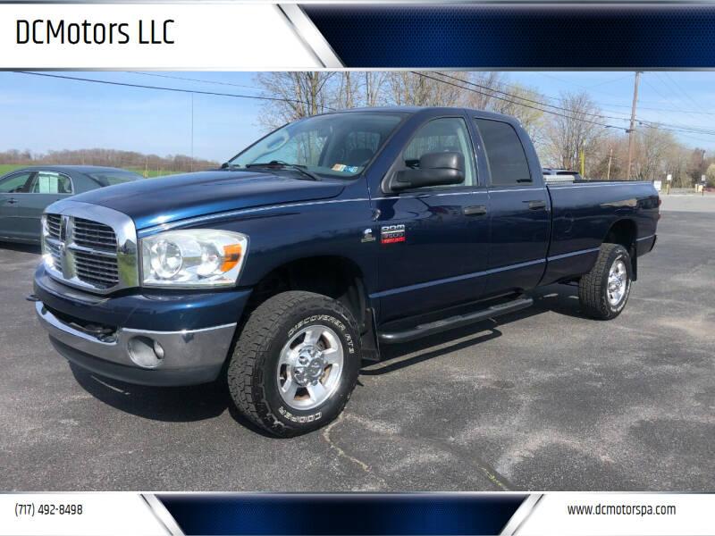2008 Dodge Ram Pickup 2500 for sale at DCMotors LLC in Mount Joy PA