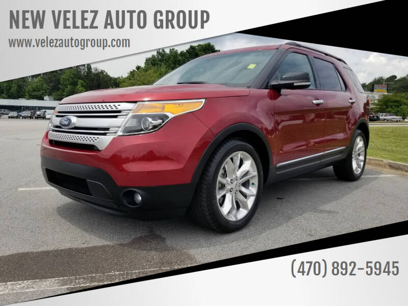 2013 Ford Explorer for sale at NEW VELEZ AUTO GROUP in Gainesville GA