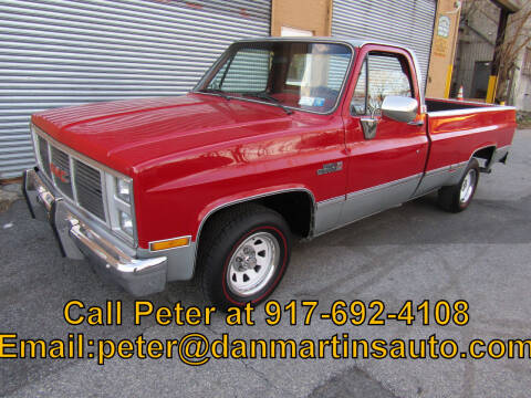 1985 GMC C/K 1500 Series for sale at Dan Martin's Auto Depot LTD in Yonkers NY