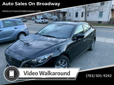 2014 Mazda MAZDA3 for sale at Auto Sales on Broadway in Norwood MA