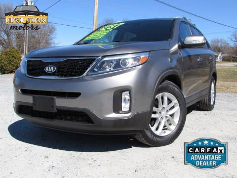2014 Kia Sorento for sale at High-Thom Motors in Thomasville NC