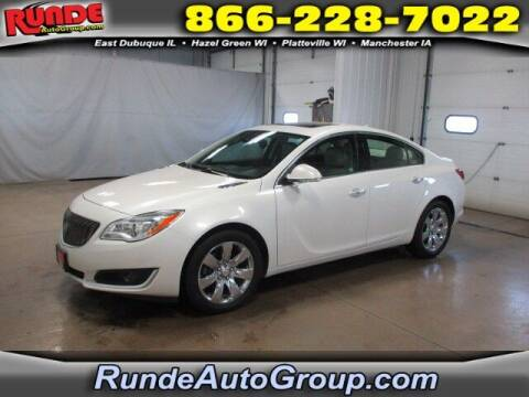 2014 Buick Regal for sale at Runde Chevrolet in East Dubuque IL