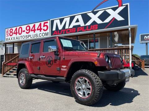 2009 Jeep Wrangler Unlimited for sale at Maxx Autos Plus in Puyallup WA