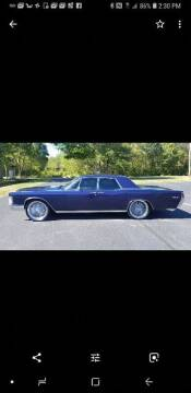 1968 Lincoln Continental for sale at Route 106 Motors in East Bridgewater MA