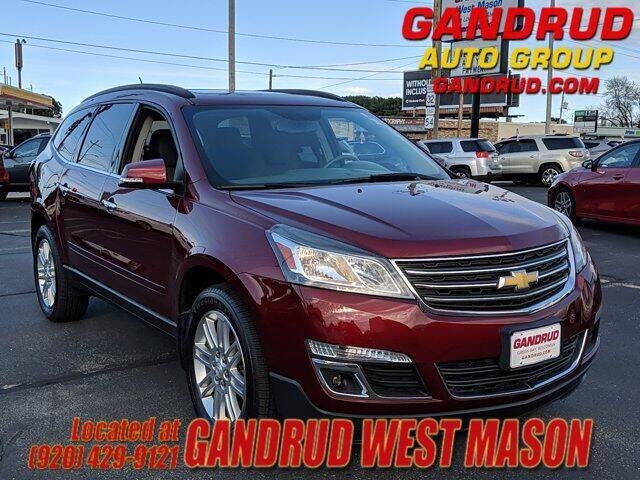 2015 Chevrolet Traverse for sale at GANDRUD CHEVROLET in Green Bay WI