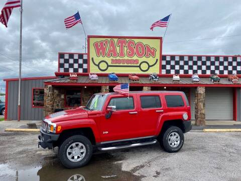 2010 HUMMER H3 for sale at Watson Motors in Poteau OK