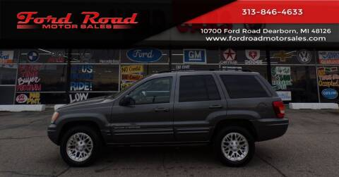 2004 Jeep Grand Cherokee for sale at Ford Road Motor Sales in Dearborn MI