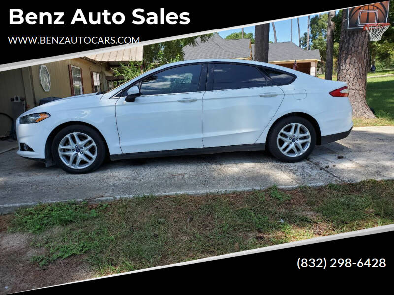 2013 Ford Fusion for sale at Benz auto sales in Willis TX