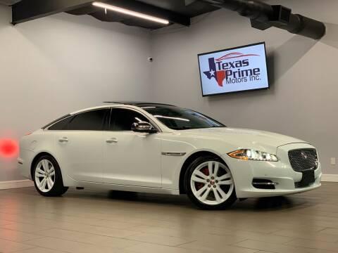2014 Jaguar XJL for sale at Texas Prime Motors in Houston TX