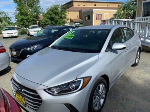 2017 Hyundai Elantra for sale at Contra Costa Auto Sales in Oakley CA