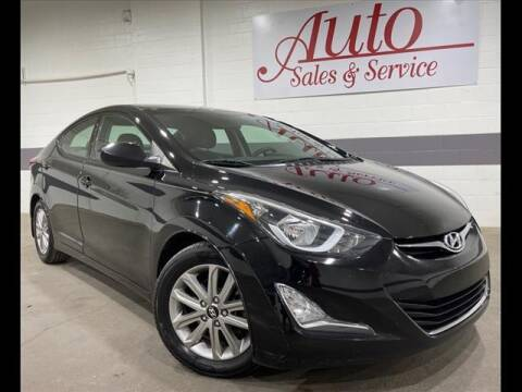2016 Hyundai Elantra for sale at Auto Sales & Service Wholesale in Indianapolis IN
