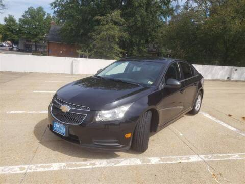 2013 Chevrolet Cruze for sale at Crown Auto Group in Falls Church VA