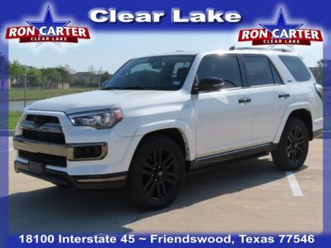 2019 Toyota 4Runner for sale at Ron Carter  Clear Lake Used Cars in Houston TX