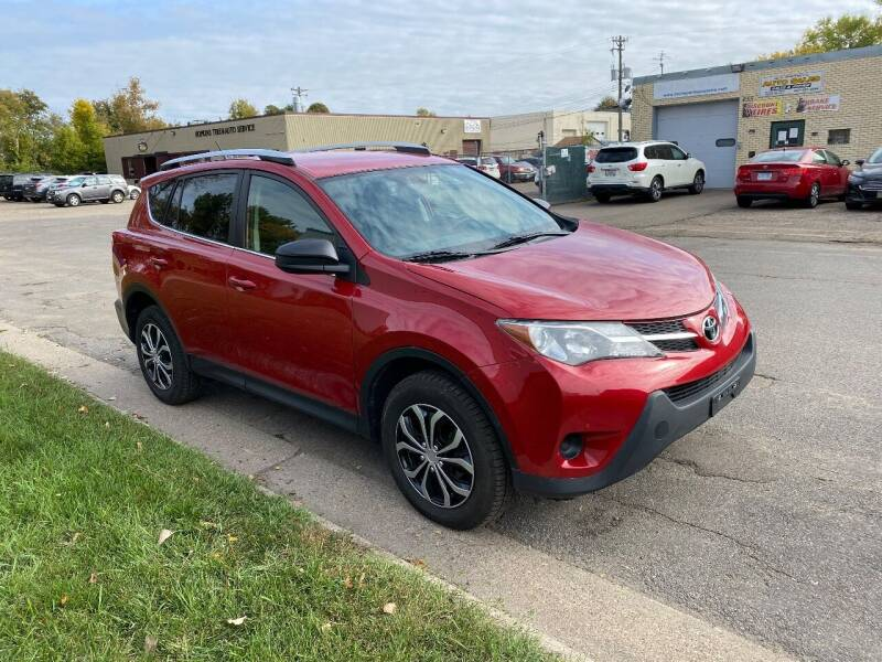 2015 Toyota RAV4 for sale at ACE IMPORTS AUTO SALES INC in Hopkins MN