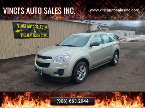 2013 Chevrolet Equinox for sale at Vinci's Auto Sales Inc. in Bessemer MI