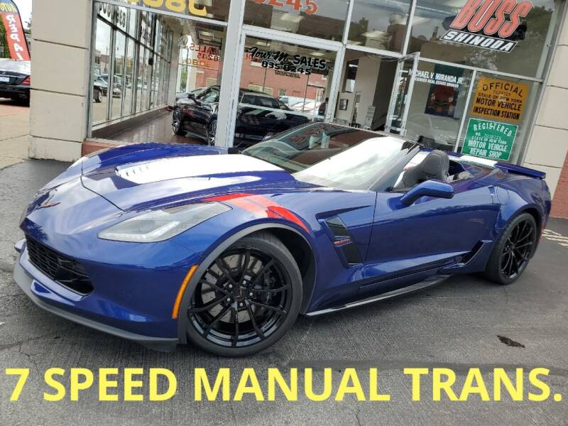 2017 Chevrolet Corvette for sale at FOUR M SALES in Buffalo NY