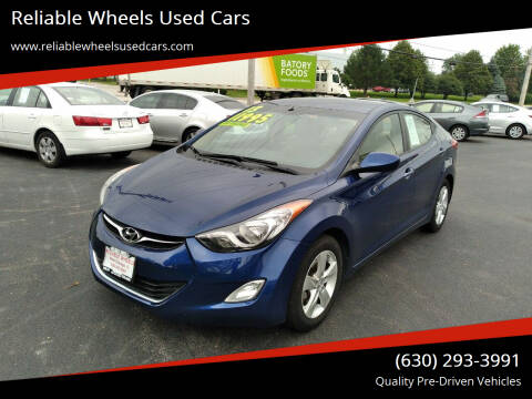 2013 Hyundai Elantra for sale at Reliable Wheels Used Cars in West Chicago IL