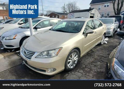 2010 Lexus ES 350 for sale at Highland Park Motors Inc. in Highland Park NJ