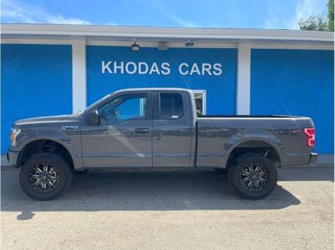 2018 Ford F-150 for sale at Khodas Cars in Gilroy CA