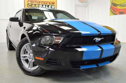 2012 Ford Mustang for sale at Performance car sales in Joliet IL