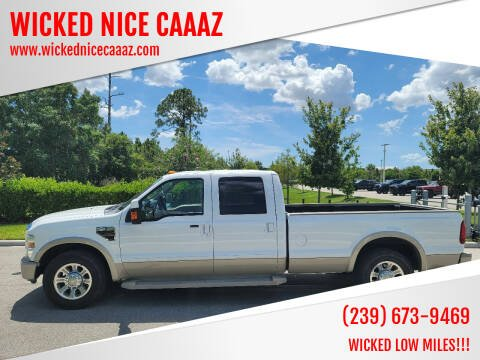 2008 Ford F-350 Super Duty for sale at WICKED NICE CAAAZ in Cape Coral FL