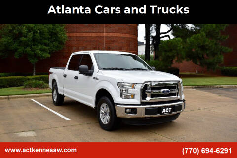 2015 Ford F-150 for sale at Atlanta Cars and Trucks in Kennesaw GA