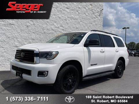 2018 Toyota Sequoia for sale at SEEGER TOYOTA OF ST ROBERT in Saint Robert MO