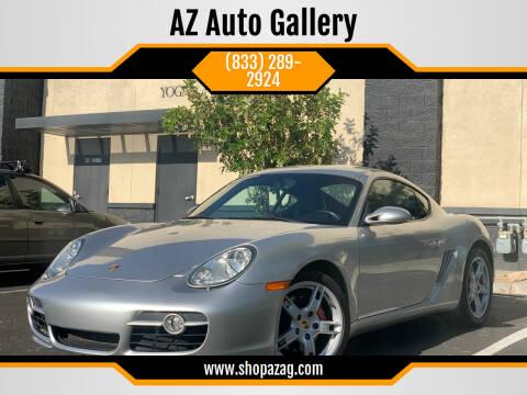 2006 Porsche Cayman for sale at AZ Auto Gallery in Mesa AZ