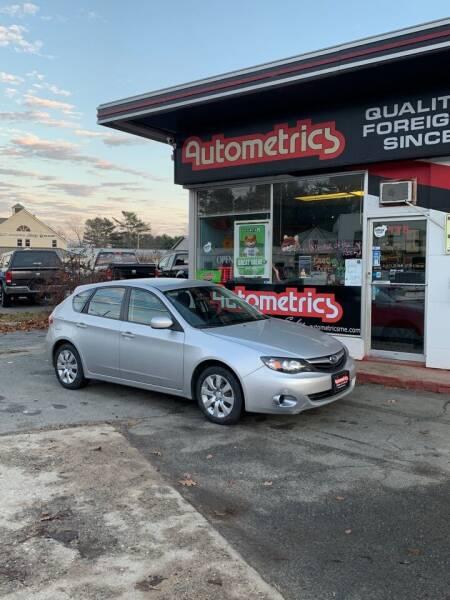 2011 Subaru Impreza for sale at AUTOMETRICS in Brunswick ME