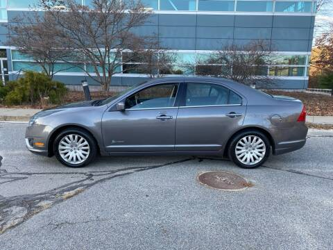 2011 Ford Fusion Hybrid for sale at Broadway Motor Sales and Auto Brokers in North Chelmsford MA