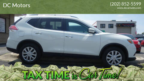 2016 Nissan Rogue for sale at DC Motors in Springfield VA
