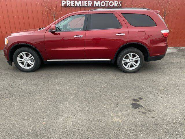 2013 Dodge Durango for sale at PremierMotors INC. in Milton Freewater OR