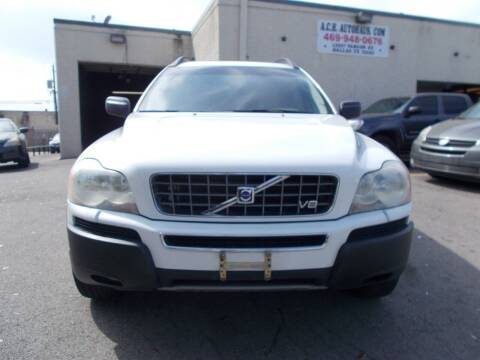 2006 Volvo XC90 for sale at ACH AutoHaus in Dallas TX