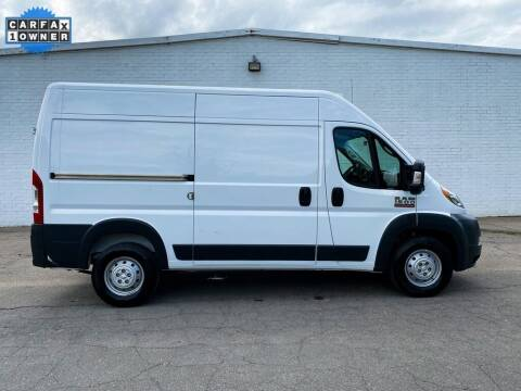 2018 RAM ProMaster Cargo for sale at Smart Chevrolet in Madison NC