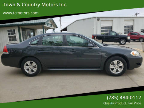 2014 Chevrolet Impala Limited for sale at Town & Country Motors Inc. in Meriden KS