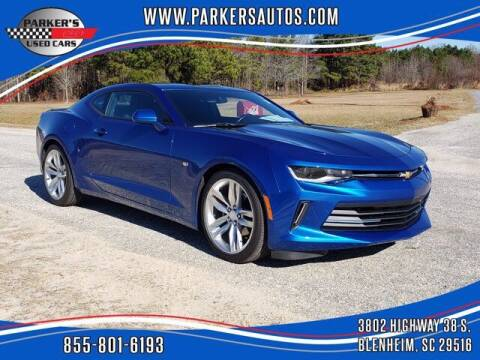 2018 Chevrolet Camaro for sale at Parker's Used Cars in Blenheim SC