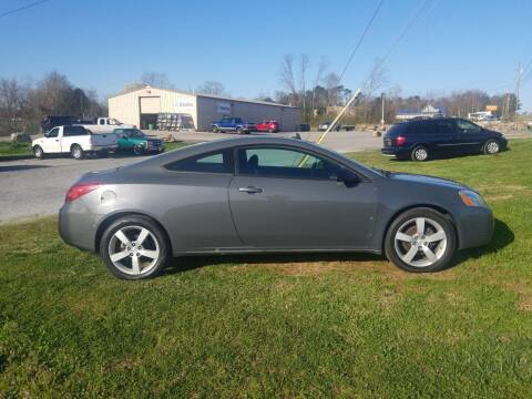 2008 Pontiac G6 for sale at CAR-MART AUTO SALES in Maryville TN