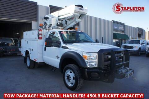 2011 Ford F-550 Super Duty for sale at STAPLETON MOTORS in Commerce City CO