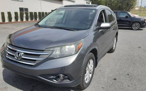 2013 Honda CR-V for sale at Mathews Used Cars, Inc. in Crawford GA