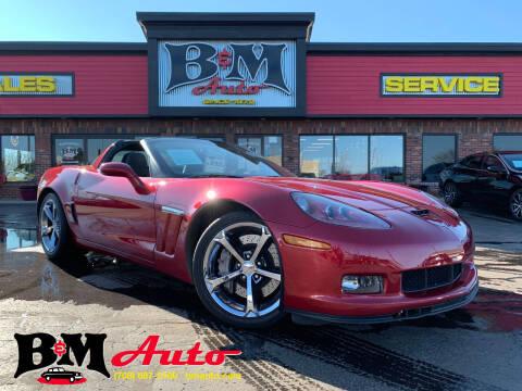 2013 Chevrolet Corvette for sale at B & M Auto Sales Inc. in Oak Forest IL