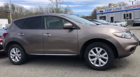 2012 Nissan Murano for sale at Top Line Import of Methuen in Methuen MA