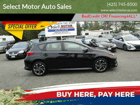 2017 Toyota Corolla iM for sale at Select Motor Auto Sales in Lynnwood WA