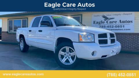 2007 Dodge Dakota for sale at Eagle Care Autos in Mcpherson KS