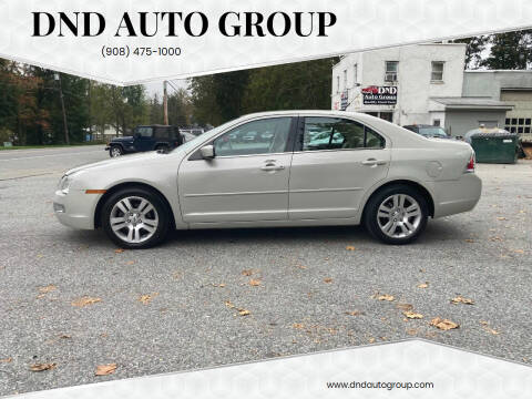 2008 Ford Fusion for sale at DND AUTO GROUP in Belvidere NJ