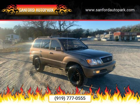 2000 Lexus LX 470 for sale at Sanford Autopark in Sanford NC